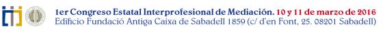 Congreso mediacion España
