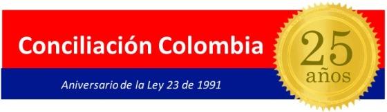 Conciliacion Colombia 25 años logo
