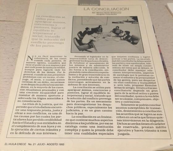 Huila Crece 1993-2