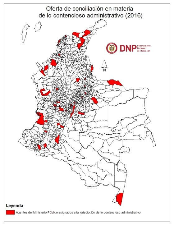mapa en lo contencioso administrativo