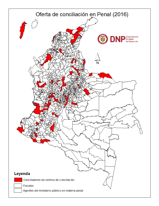 mapa en penal