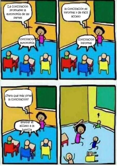 Meme conciliacion acceso