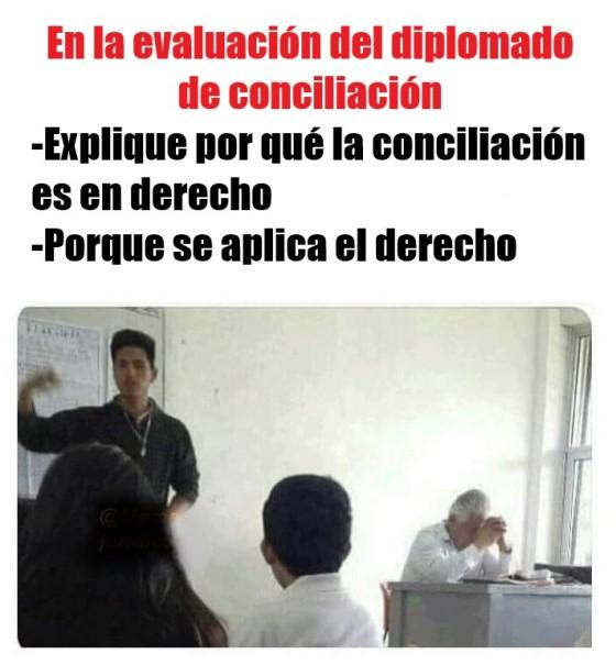 Meme conciliacion en derecho
